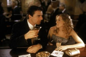 Una scena con Carrie e Mr. Big