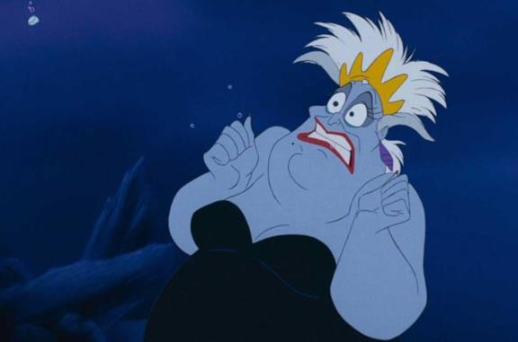 La Sirenetta, Ursula avrebbe dovuto essere una sirena nel Classico Disney