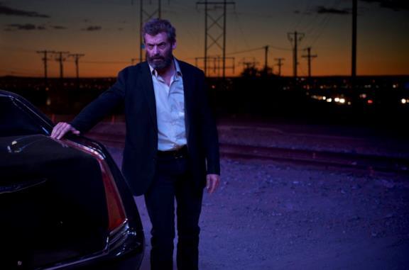 Hugh Jackman in una scena di Logan
