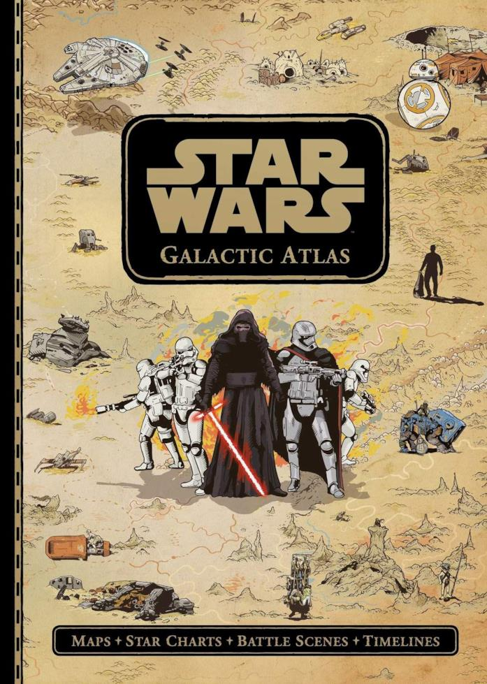 Copertina del volume Galactic Atlas