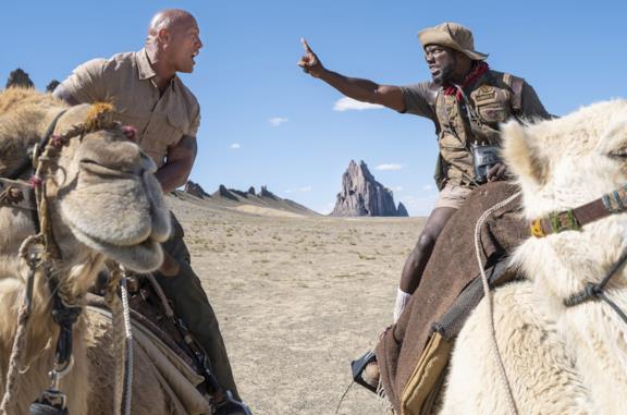 The Rock e Kevin Hart in Jumanji: The Next Level