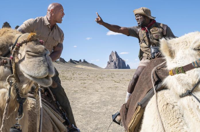 The Rock e Kevin Hart in Jumanji: The Next Level
