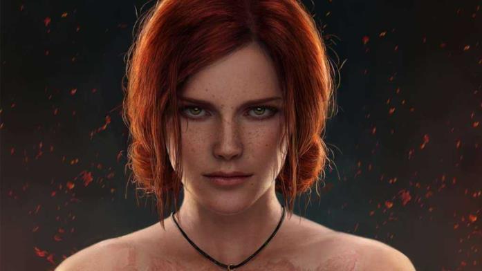 Triss Merigold nei videogiochi di The Witcher