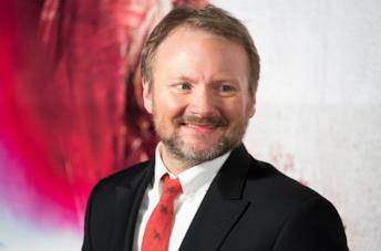 Il regista Rian Johnson
