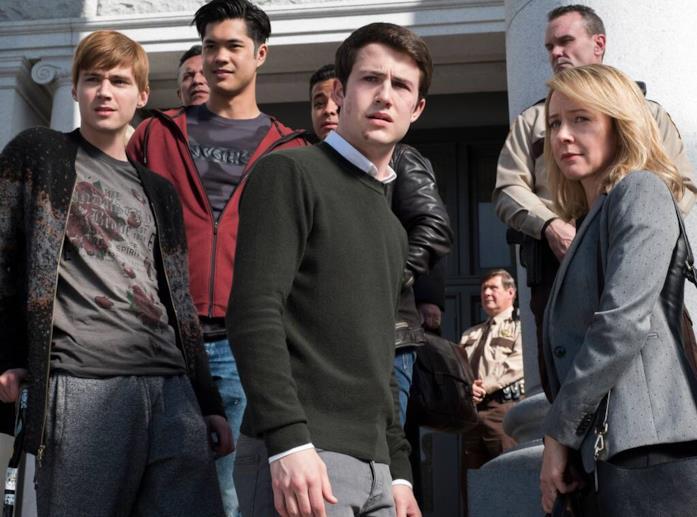 Una scena della serie Tredici