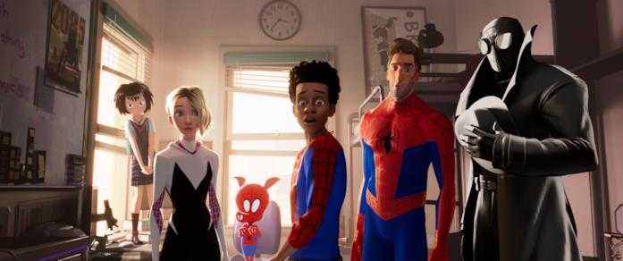 Le diverse versioni di Spider-Man protagoniste di Spider-Man: Un nuovo universo