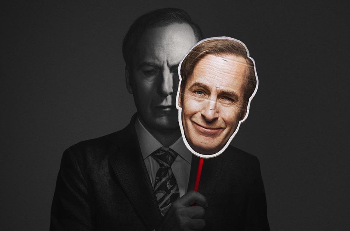 Un'immagine promozionale di Bob Oenkirk in Better Call Saul