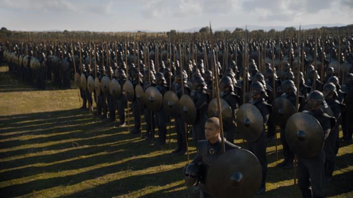 Gli Immacolati in Game of Thrones