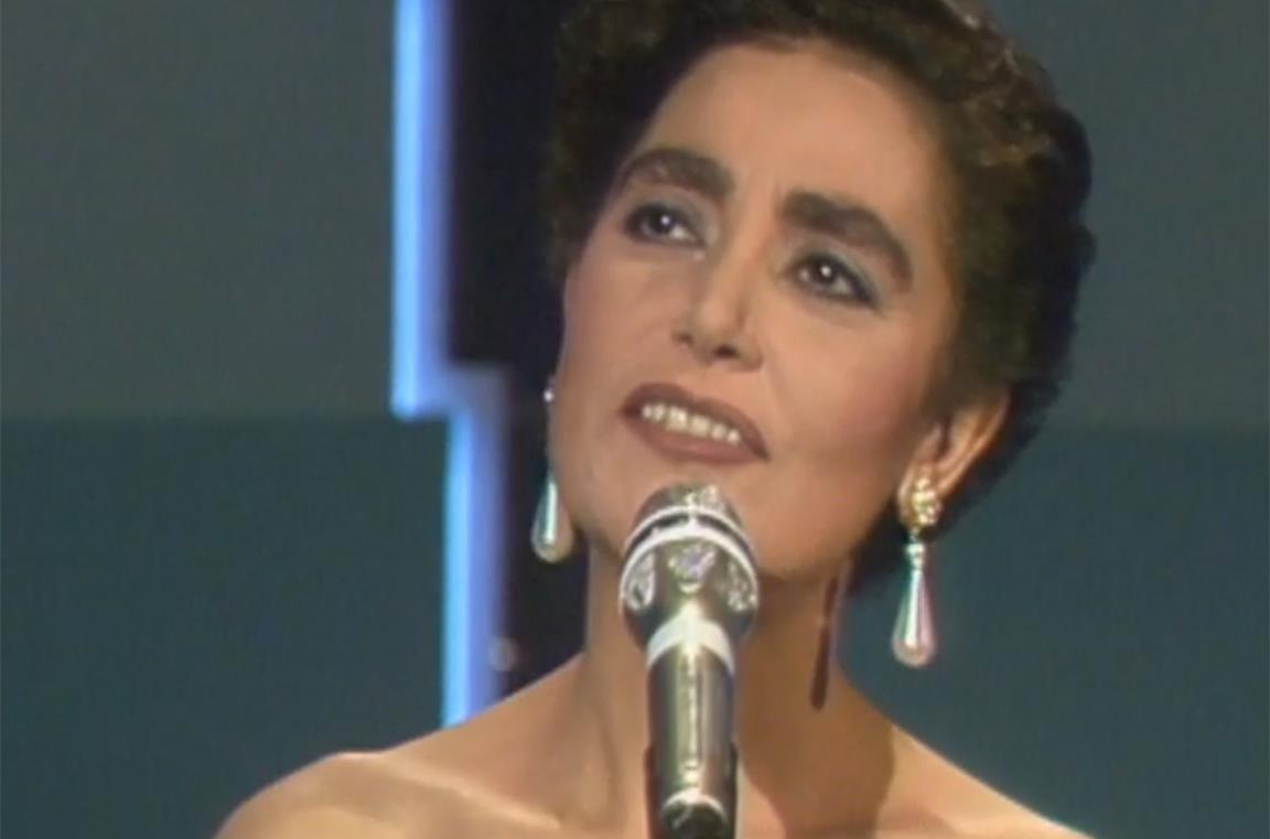 Mia Martina in una immagine di repertorio nel docufilm Mia Martini - Fammi sentire bella