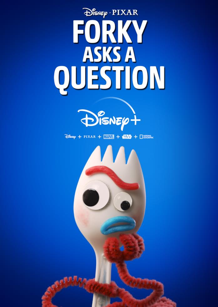 Poster di Forky Asks a Question, spin-off