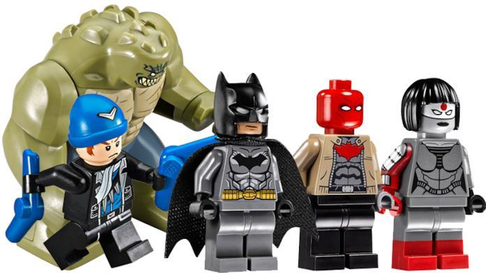 Batman e i membri della Suicide Squad contenuti nel nuovo set LEGO
