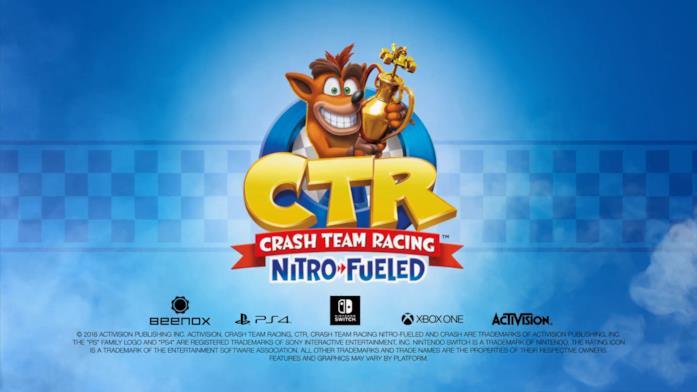 Crash Team Racing Nitro-Fueld in uscita il 21 giugno 2019