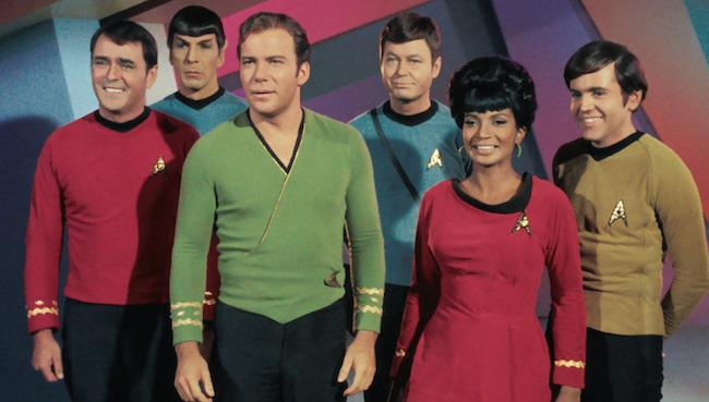 I membri dell'equipaggio della Enterprise