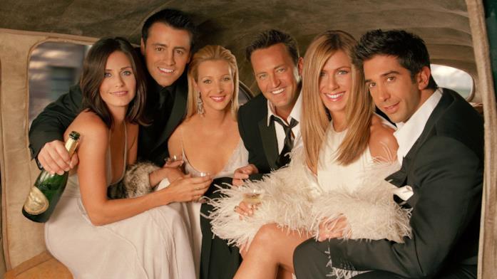 Il cast della serie Friends