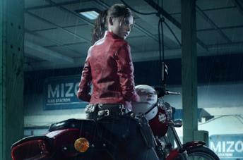 Claire Redfield nel videogioco Resident Evil 2 Remake