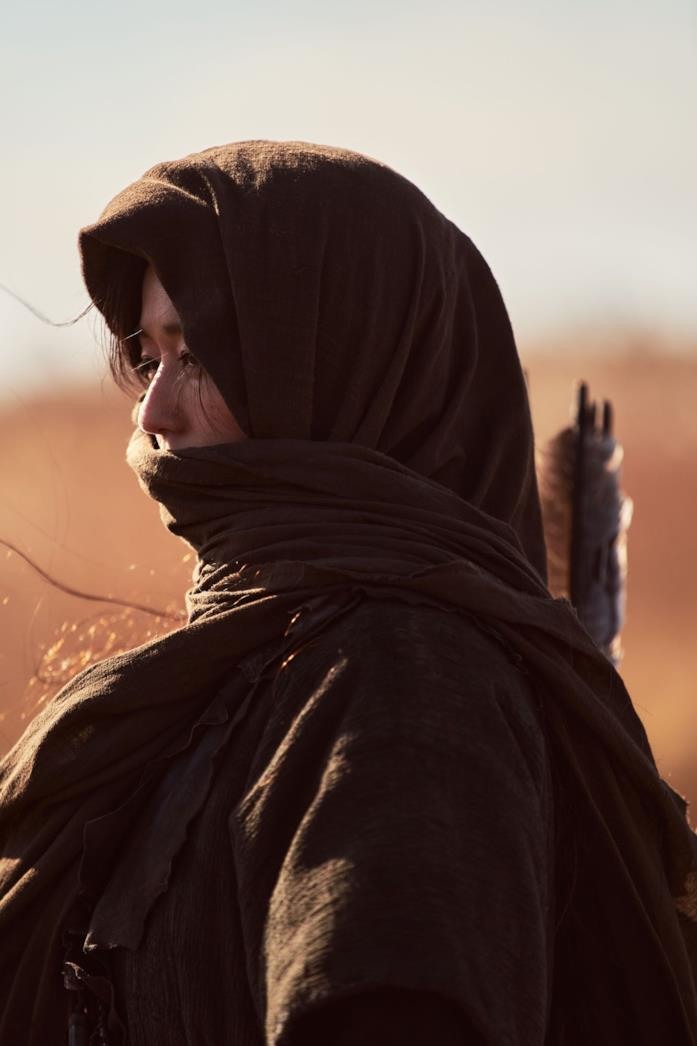 Gianna Jun in una scena dello speciale Kingdom: Ashin of the North