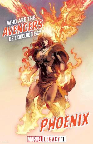 Fenice da Marvel Legacy #1