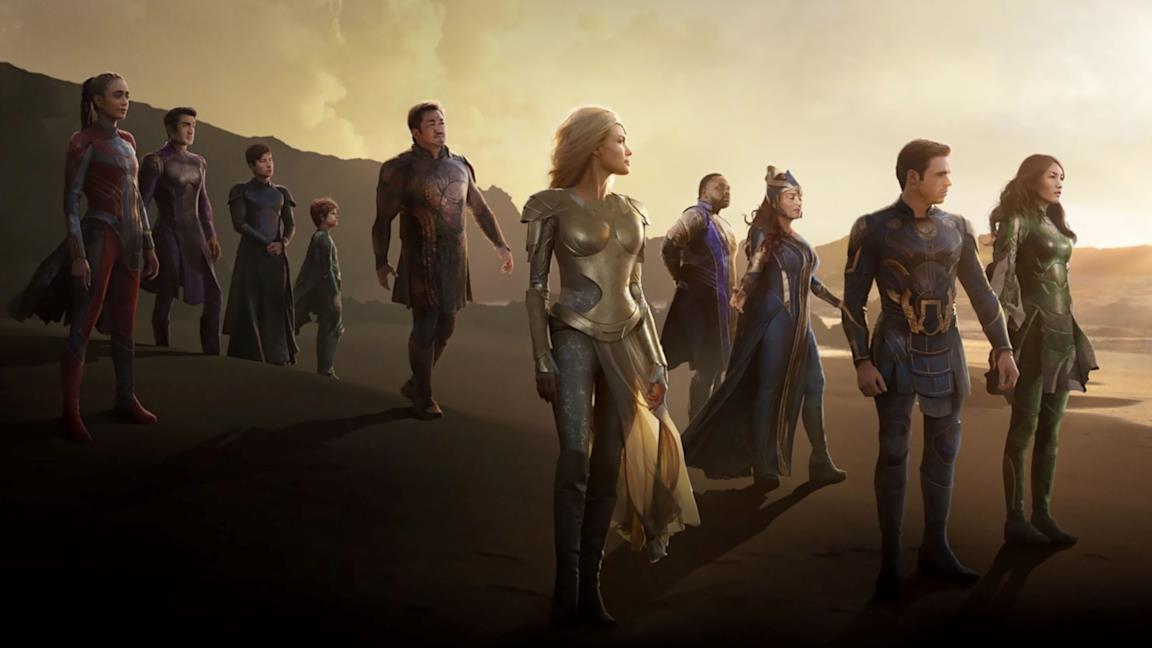 Eternals: il trailer finale della pellicola presenta nuove minacce
