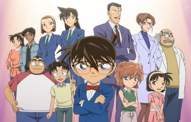 Detective Conan cast personaggi