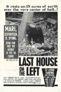 Poster L'ultima casa a sinistra