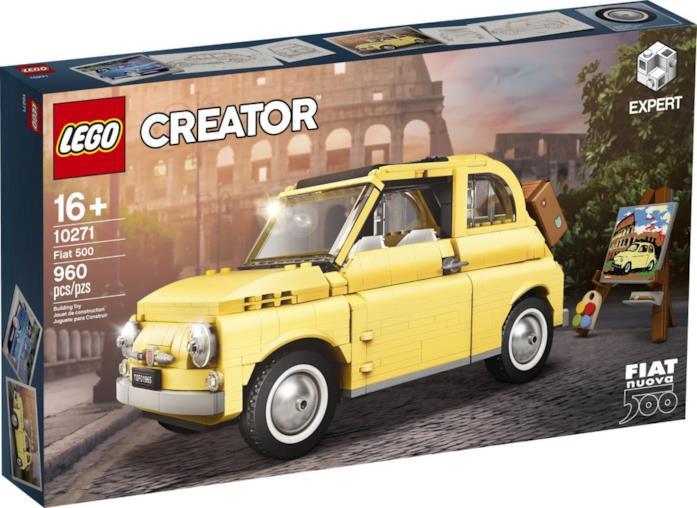La nuova Fiat 500 di LEGO
