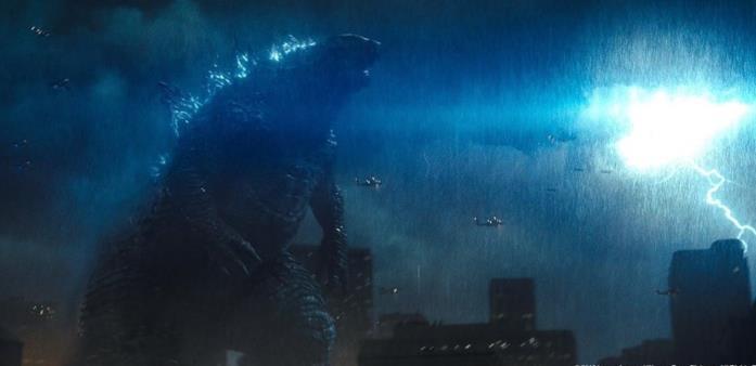 Godzilla in un frame del trailer di King of the Monsters