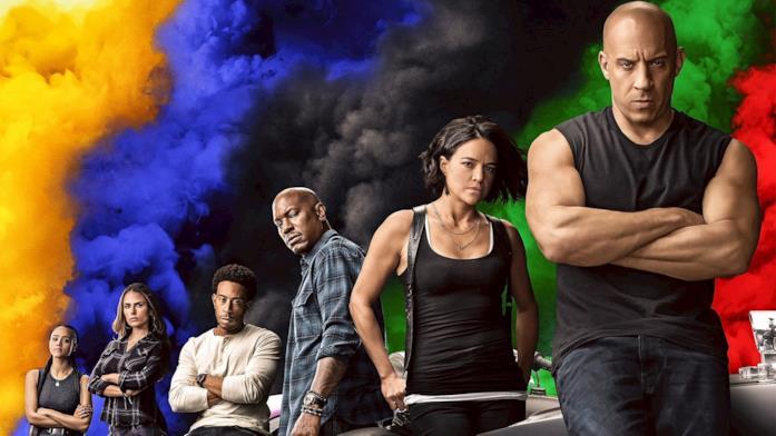 Poster con i protagonisti di Fast & Furious 9