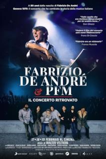 Poster Fabrizio De André & PFM - Il concerto ritrovato