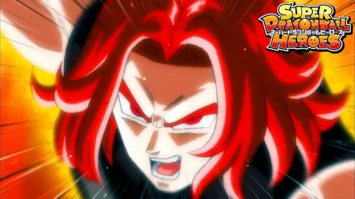 Dragon Ball Heroes Trunks Super Saiyan God