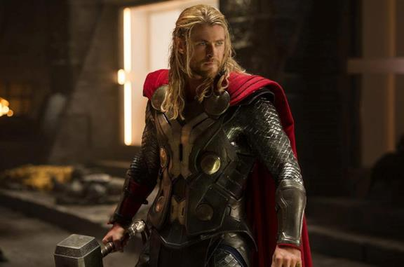 Chris Hemsworth come Thor in Thor: The Dark World