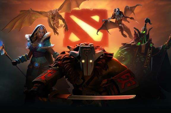 Un'immagine del videogame Dota 2 di Valve