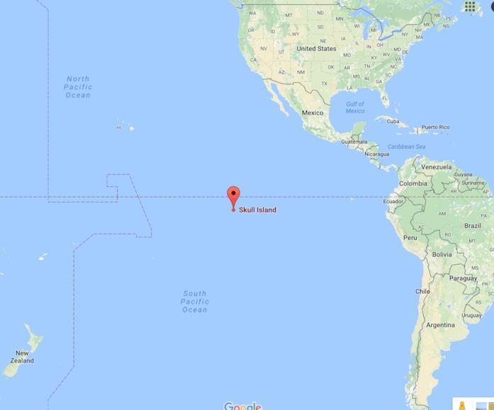 Skull Island: su Google Maps per il lancio del film