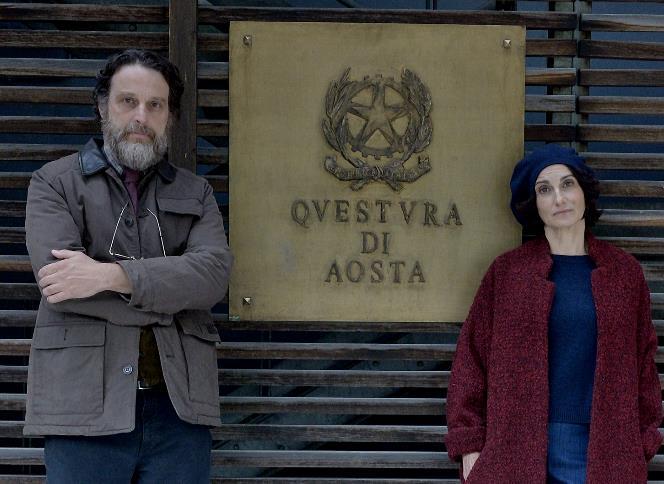 Alberto e Michela in una foto promozionale della quarta stagione