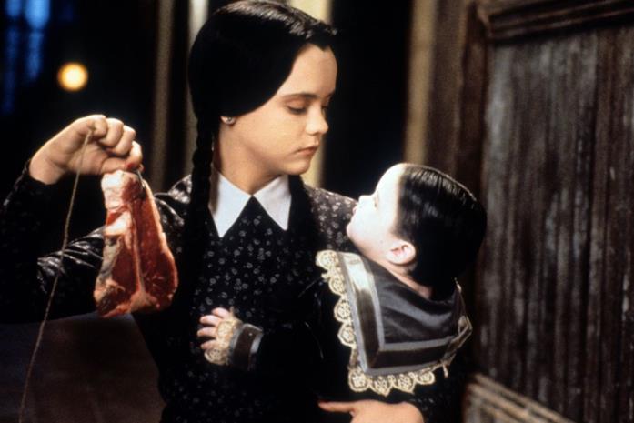 Mercoledì Addams interpretata da una giovane Christina Ricci