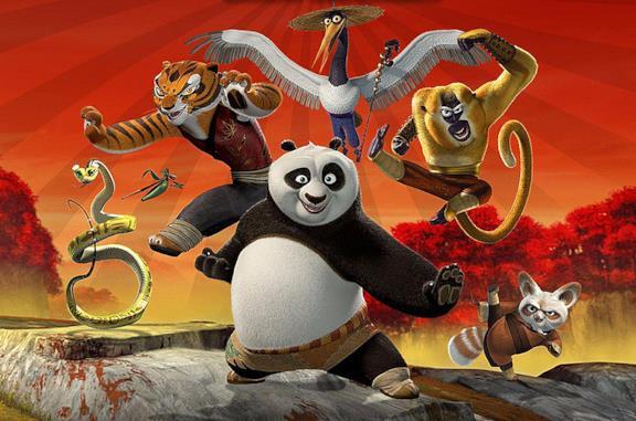 Kung Fu Panda, personaggi e doppiatori italiani del primo film