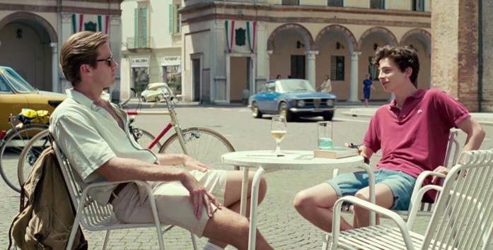 La scena di Elio e Oliver in centro Crema in Chiamami col tuo nome