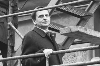 Olof Palme a Stoccolma