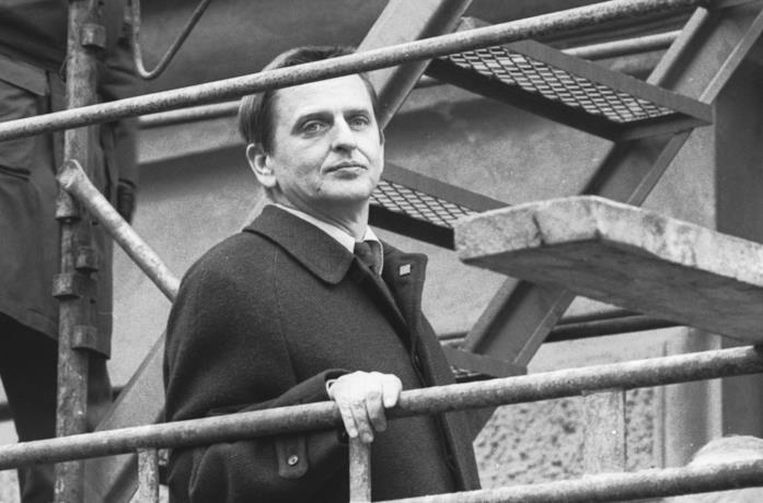 Olof Palme a Stoccolma