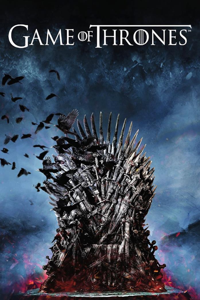 La locandina di Game of Thrones