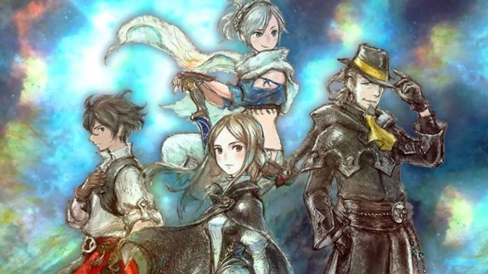 Bravely Default II personaggi