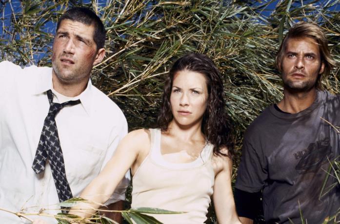 I protagonisti di Lost: Matthew Fox, Evangeline Lilly e Josh Holloway