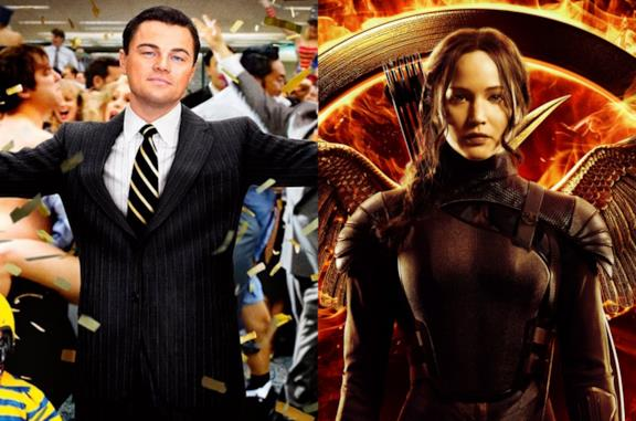 Leonardo DiCaprio e Jennifer Lawrence