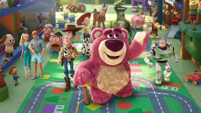 I giocattoli di Andy esplorano nuovi mondi in Toy Story 3