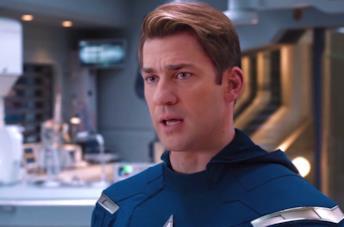 John Krasinski diventa Captain America nel nuovo video deepfake
