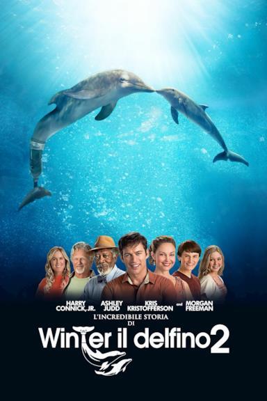 Poster L'incredibile storia di Winter il delfino 2
