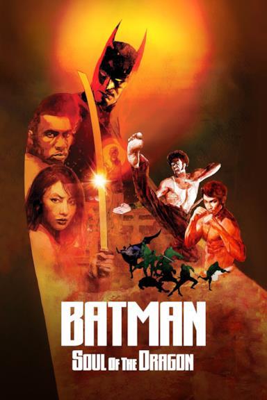 Poster Batman: Soul of the Dragon