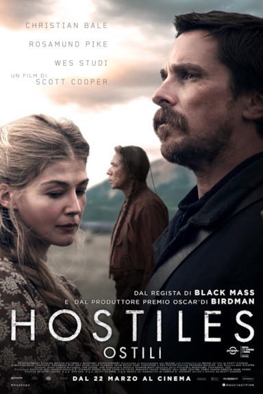 Poster Hostiles - Ostili