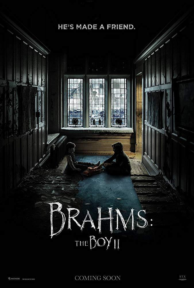 Il poster del film Brahms: The Boy 2