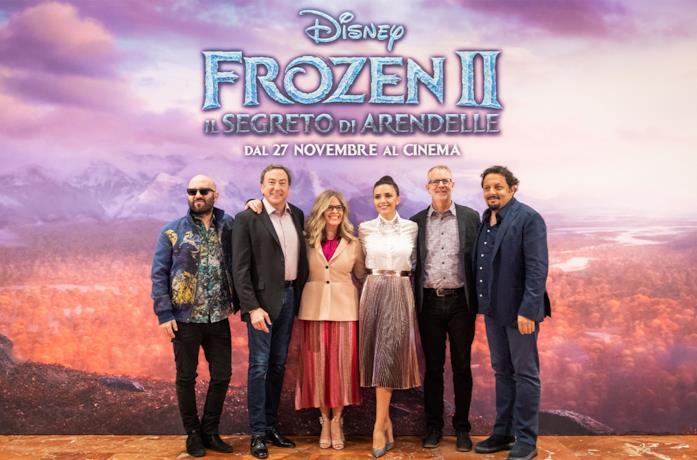 I registi e il cast vocale italiano di Frozen 2