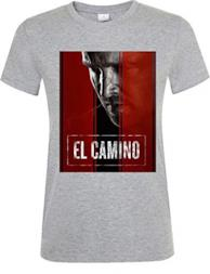 El Camino Breaking Bad Jessy Pinkman T-Shirt Girocollo Donna XX-Large